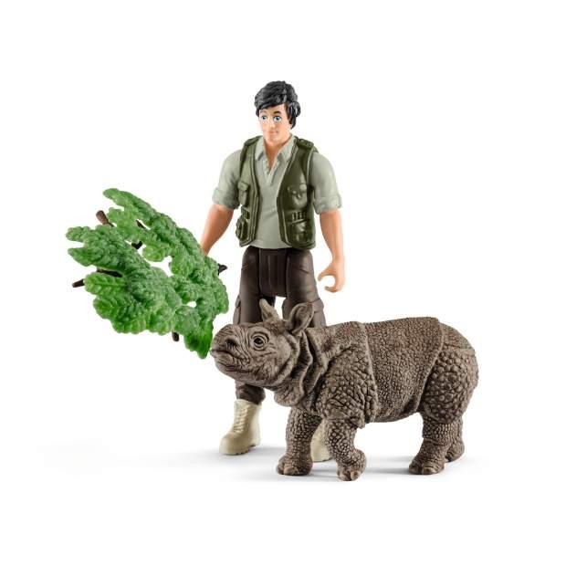 Ranger and Indian rhinoceros starter set