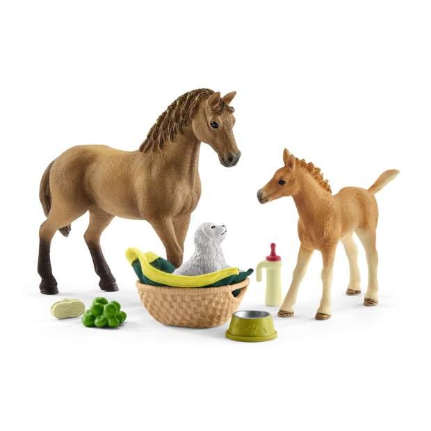 Horse Club Sarah's baby animal care