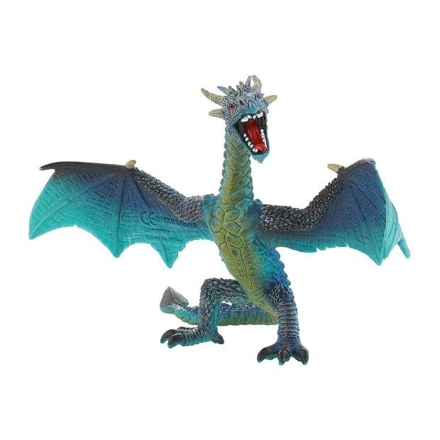 Drachen - Drache fliegend türkis