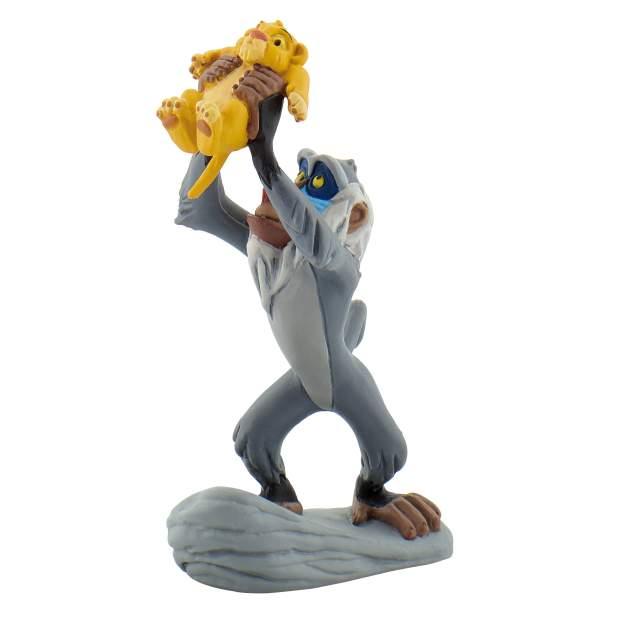 König der Löwen - Rafiki mit Baby Simba