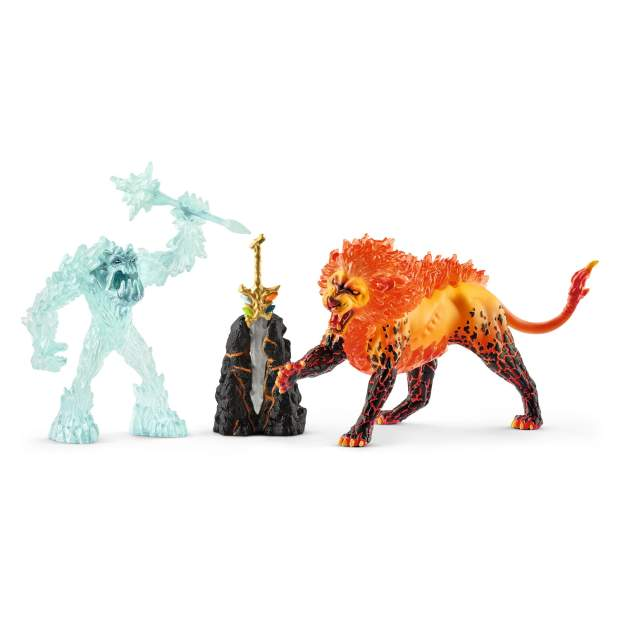 Battle for the Superweapon ? Frost Monster vs. Fire Lion