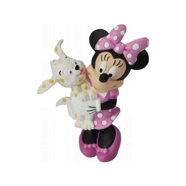 Bullyland - Walt Disney - Minnie mit Hündchen