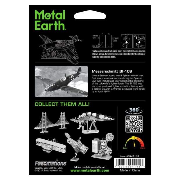 Metal Earth.: Messerschnitt BF-109