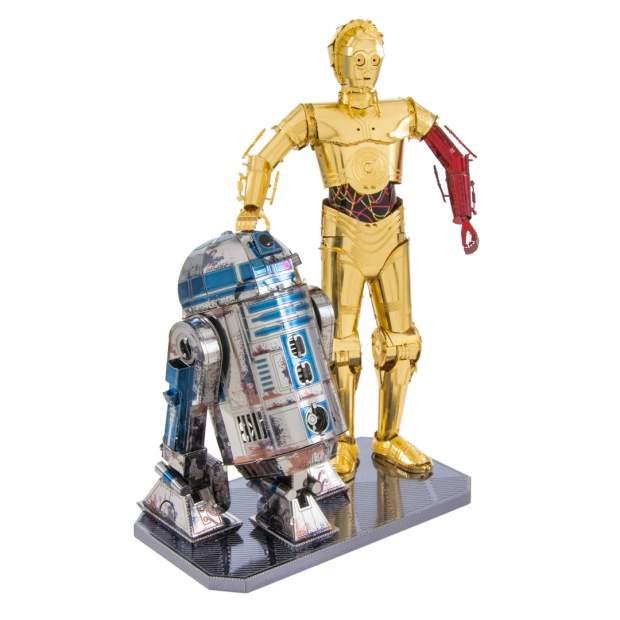 Metal Earth: Star Wars Set C-3PO + R2D2 Box