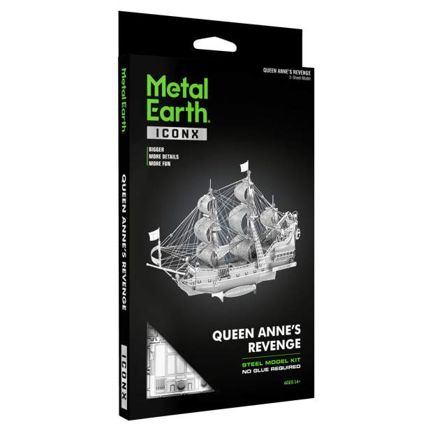 Metal Earth: Iconx Queen Annes Revenge