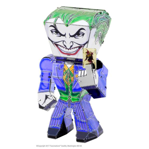 Metal Earth: Justice League Joker Classic Mini