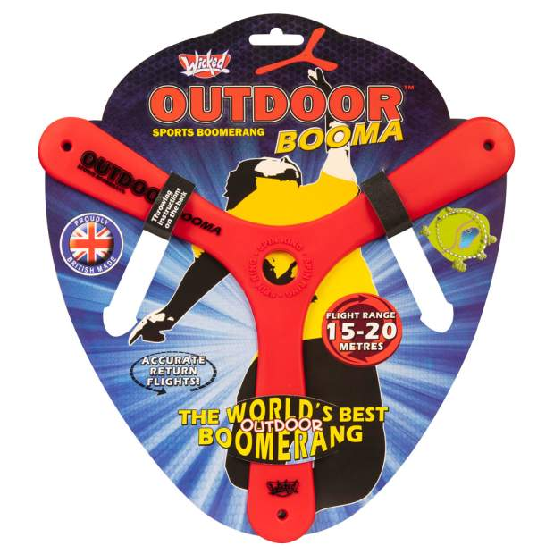 Wicked Boomerang: Outdoor Booma rot