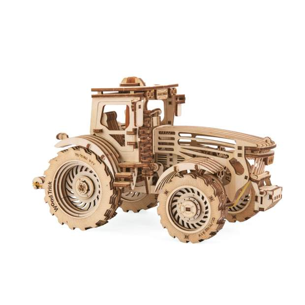 Wood Trick: Tractor