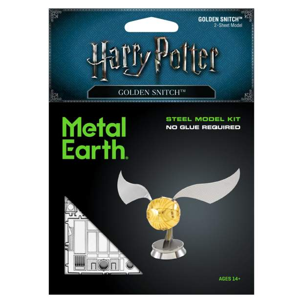 Metal Earth: Harry Potter Goldener Schnatz