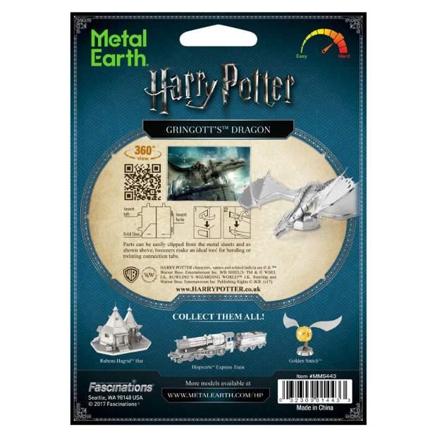 Metal Earth: Harry Potter Gringgotts Drache