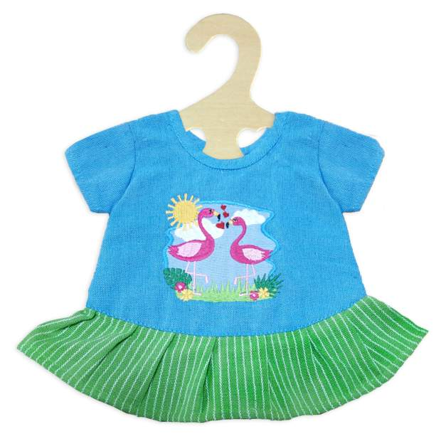 "Fair Trade Kleid ""Flamingo"" , Gr. 28-35 cm"