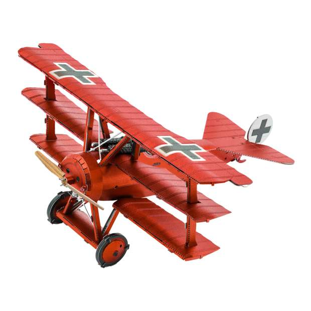 """Metal Earth: Tri-Wing Fokker """"Roter Baron"""""""