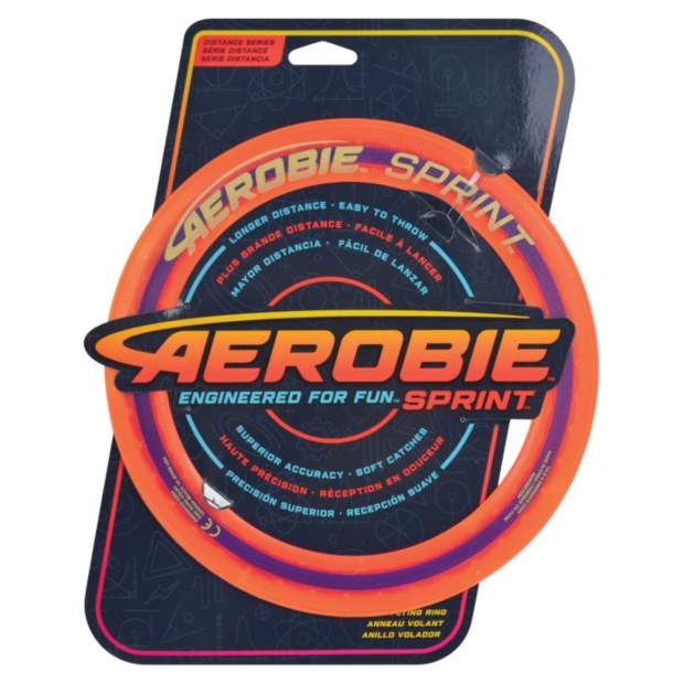 Aerobie Wurfring Sprint, 25 cm, orange
