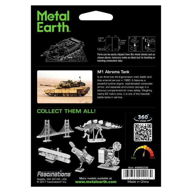 Metal Earth: M1 Abrams Tank