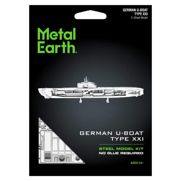 Metal Earth: German U-Boat Type XXI