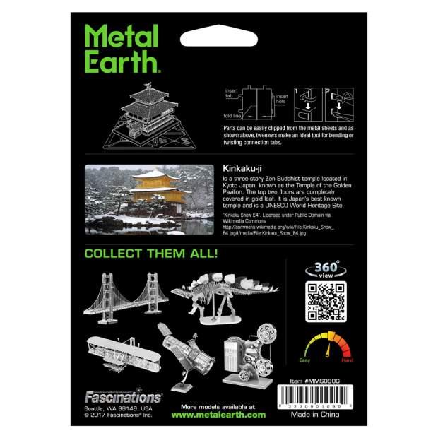 Metal Earth: Kinkaku-ji gold