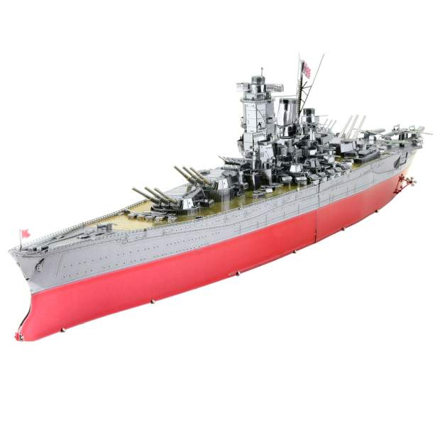 Metal Earth: Iconx Yamato Battleship