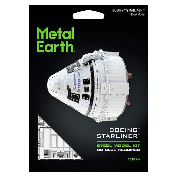 Metal Earth: Boeing CTS-100 Starliner