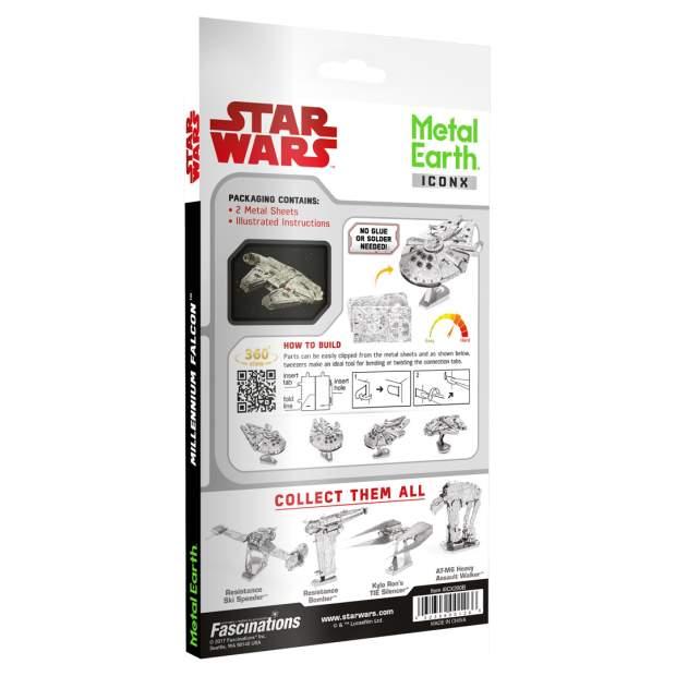Metal Earth: Iconx STAR WARS Millennium Falcon