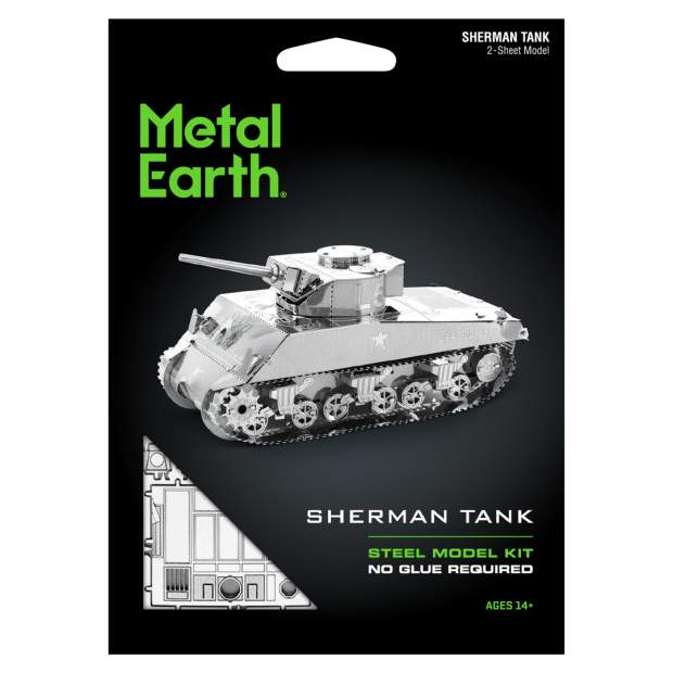Metal Earth: Sherman Tank