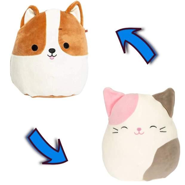 Flip-A-Mallow - Reginald, der Corgi und Karina, die Katze...