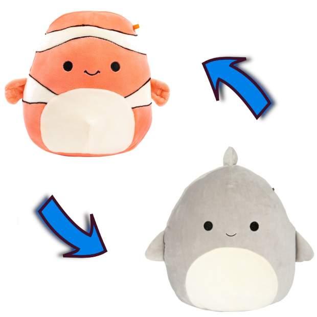 Flip-A-Mallow - Ricky, der Clownfisch und Gordon, der Hai...