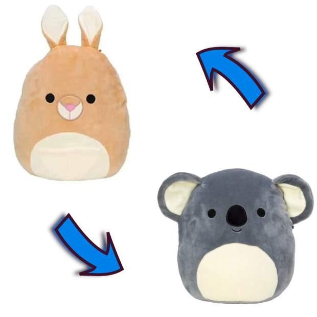 Flip-A-Mallow - Keely, das Kangaroo & Kirk, der Koala...