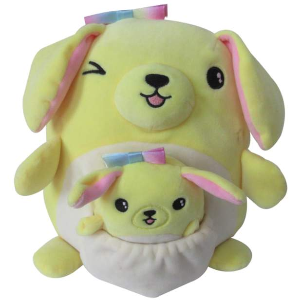 Squishmallows - Mama und Baby Golden Retriever 20 cm