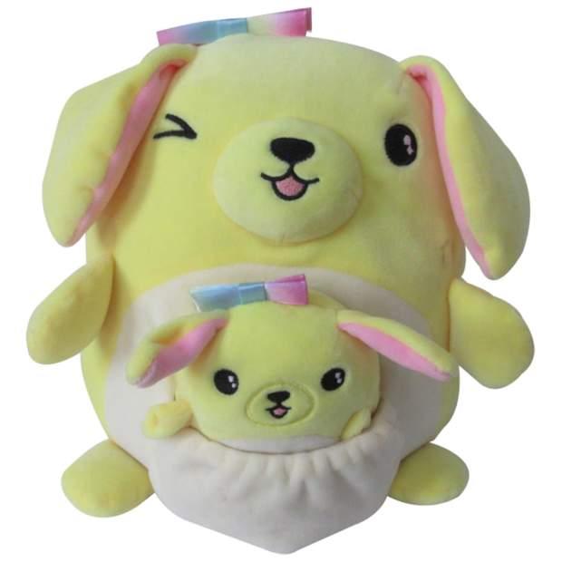 Squishmallows - Mama und Baby - Rosa der Golden Retriever 20 cm