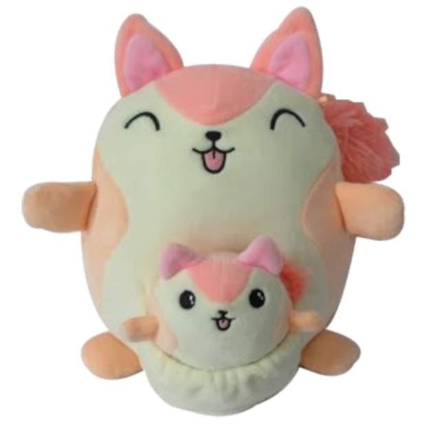 Squishmallows - Mama und Baby - Reese das Eichhörnchen 20 cm