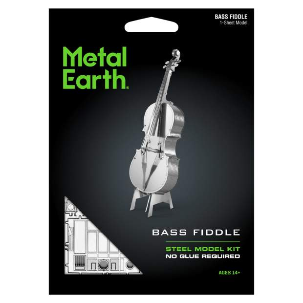Metal Earth: Bass Fiddle