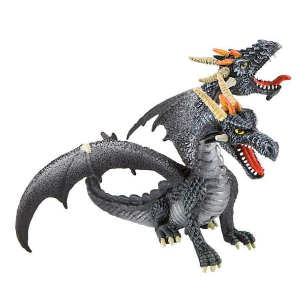 Dragon double-headed black