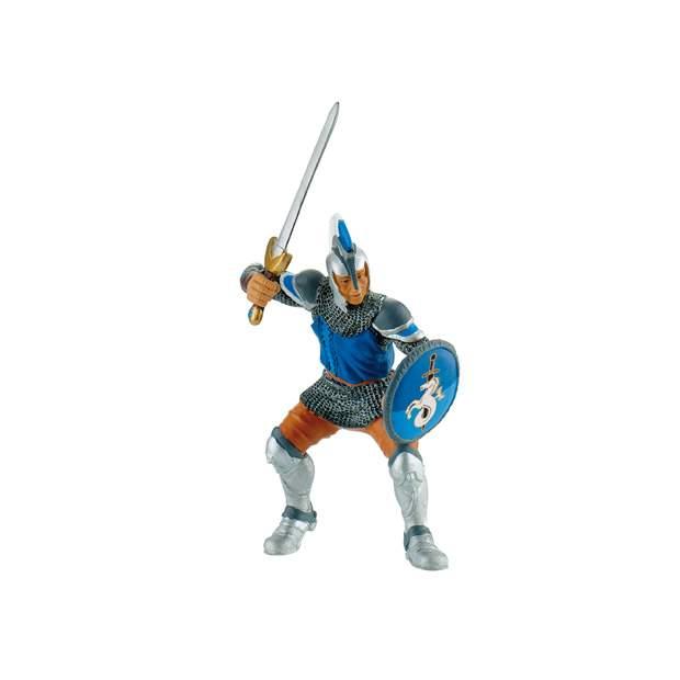 Schwertkämpfer blau