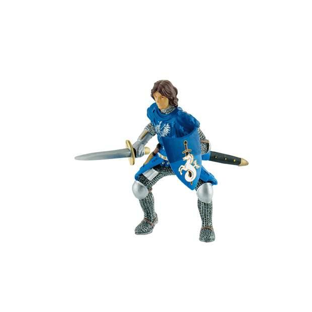 Prinz mit Schwert blau