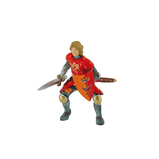 Prinz mit Schwert rot