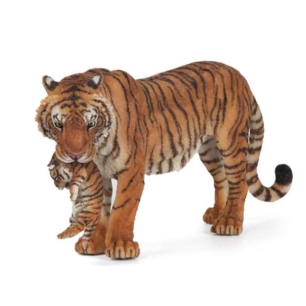 Tigerin mit Jungtier