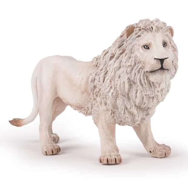 Großer weißer Löwe