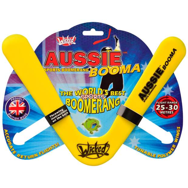 Wicked Boomerang: Aussie Booma Gelb