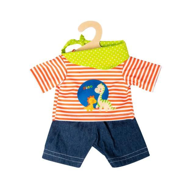 "Shorts mit T-Shirt ""Dino"", 3-teilig, Gr. 28-35 cm"