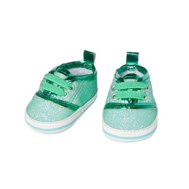 Glitzer-Sneakers, mint, Gr. 30-34 cm