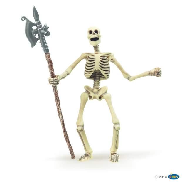 Phosphoreszierendes Skelett