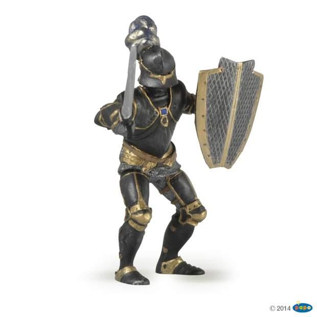 Ritter mit schwarzer Rüstung