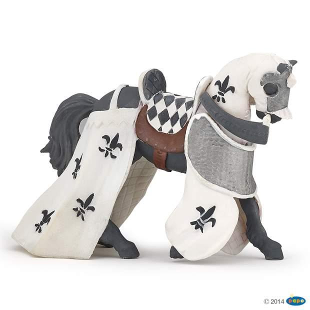 Pferd des Paladins, weiß