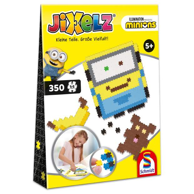 Jixelz - Minions - 350 Teile