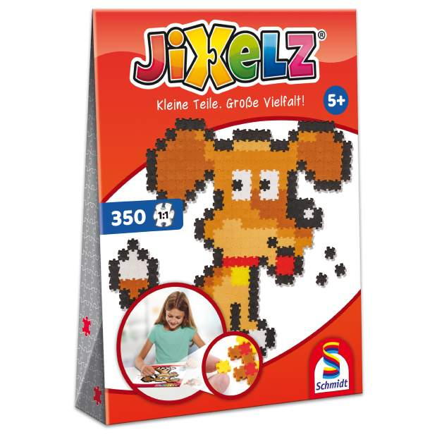Jixelz - Hund - 350 Teile