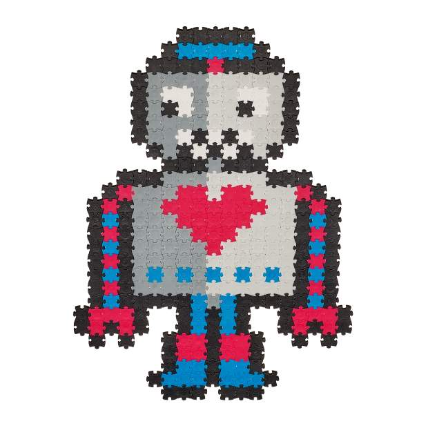 Jixelz - Roboter - 700 Teile
