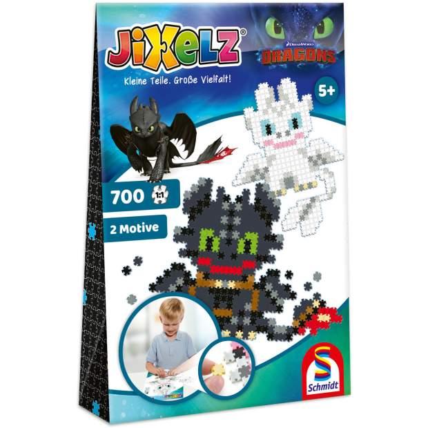 Jixelz - Dragons - 700 Teile