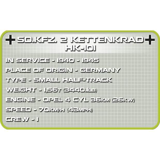 Cobi - Sd.Kfz.2 Kettenkrad