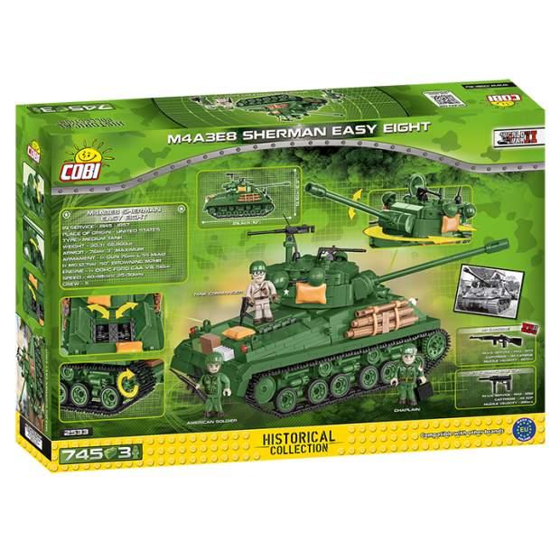 Cobi - M4A3E8 Sherman Easy Eight